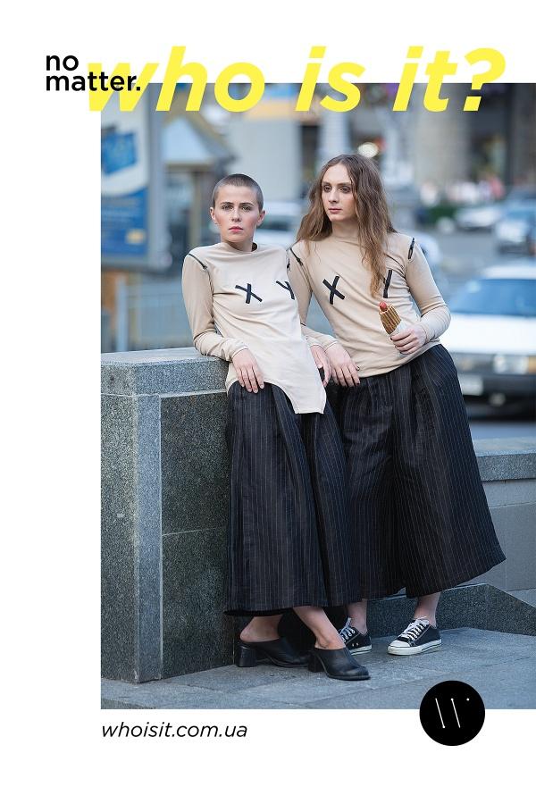 гендерные игры в новом рекламном кампейне украинского бренда Who is it