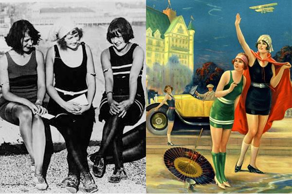 Как менялись женские купальники за 125 лет: видео - фото №3