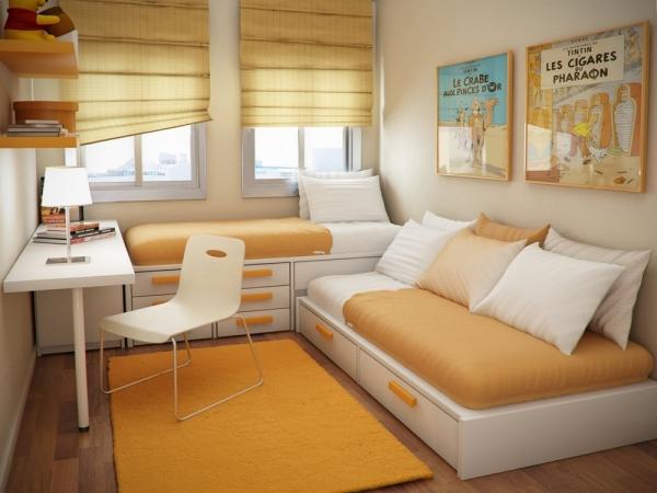 стильная маленькая комната