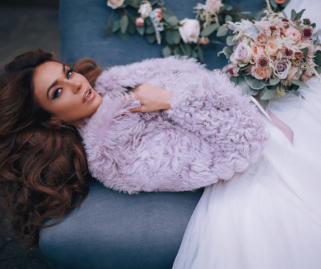 Алена Водонаева свадебные фото