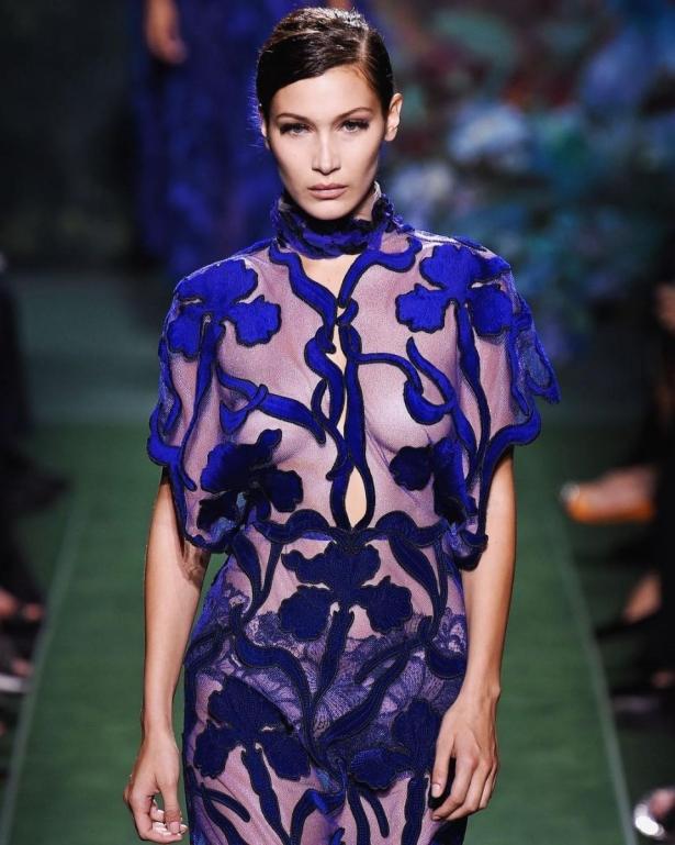 белла хадид неделя высокой моды париж 2017
