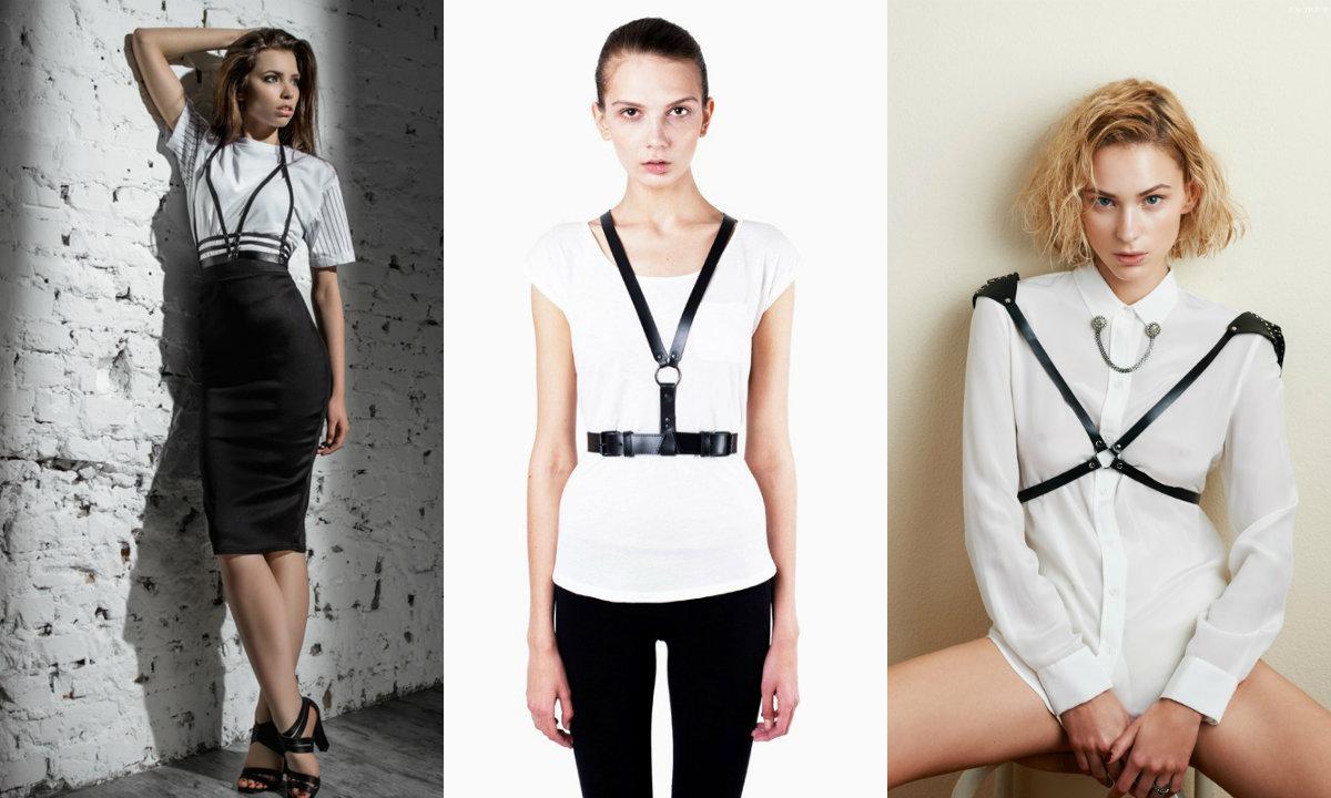 Женская портупея: как носить и где купить