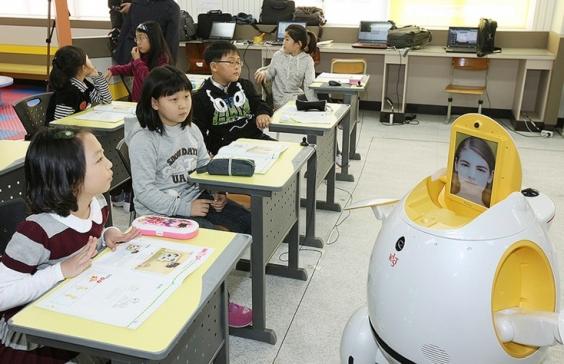 Робот учит аглийскому