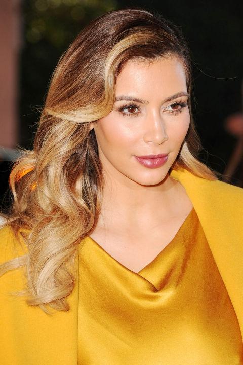 Ким Кардашьян 2013 год