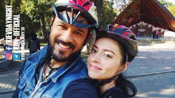 Алина и Эпифанио Киев днем и ночью