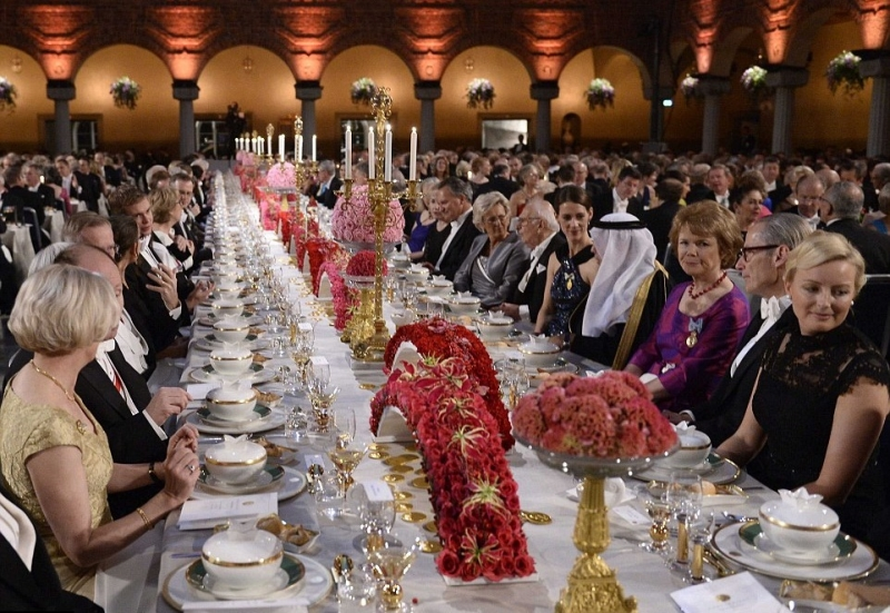 нобелевская премия банкет