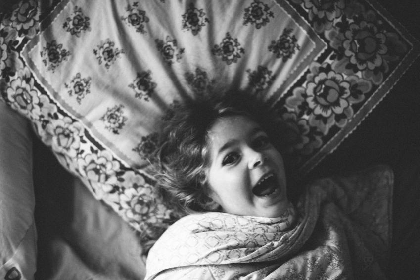 детский сон кровать ночь