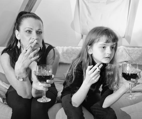 ребенок курит как быть