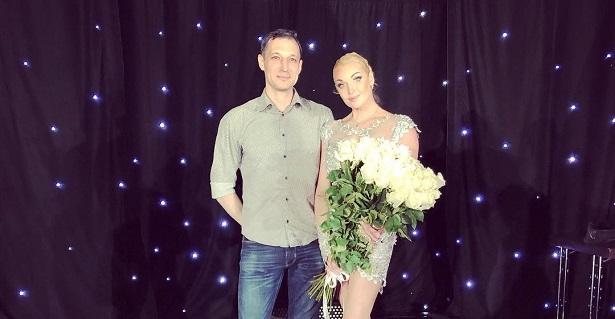 Анастасия Волочкова и Михаил Логинов