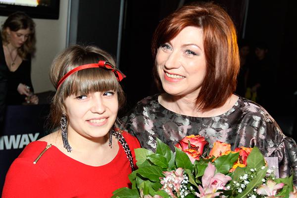 Сябитова с дочкой