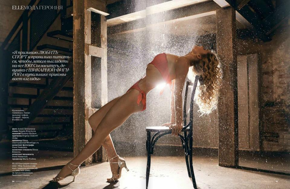 Как Вера Брежнева снялась в эротической фотосессии в образе Дженнифер Лопес - фото №2