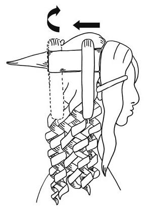 Как сделать шикарные локоны утюжком - фото №2
