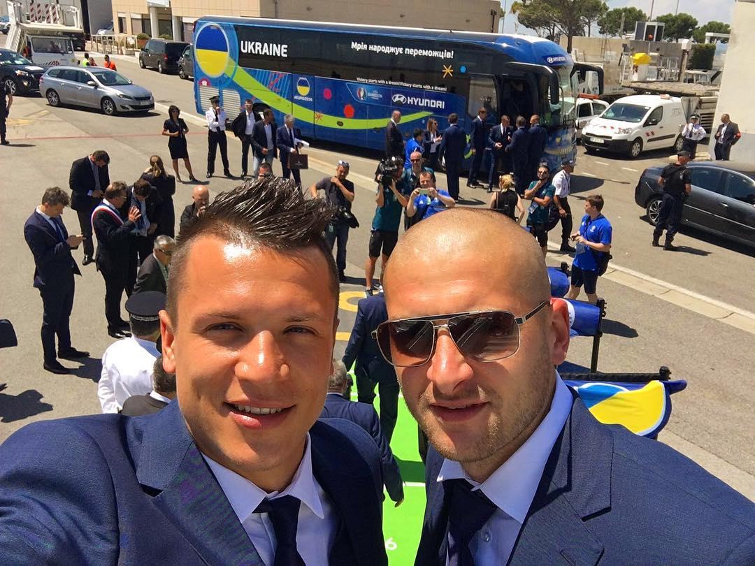 Футболисты сборной Украины в Инстаграме: как игроки готовятся к Евро-2016 - фото №3