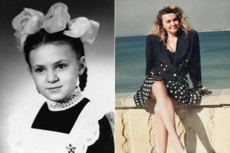 Чна Рудковская в юности и молодости