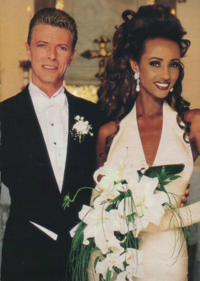 Иман и Дэвид Боуи: лучшие совместные фото одной из самых стильных пар в мире
