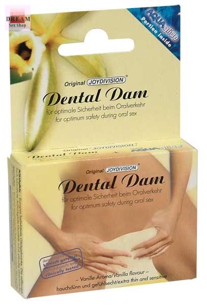 Зубная прокладка для орального секса