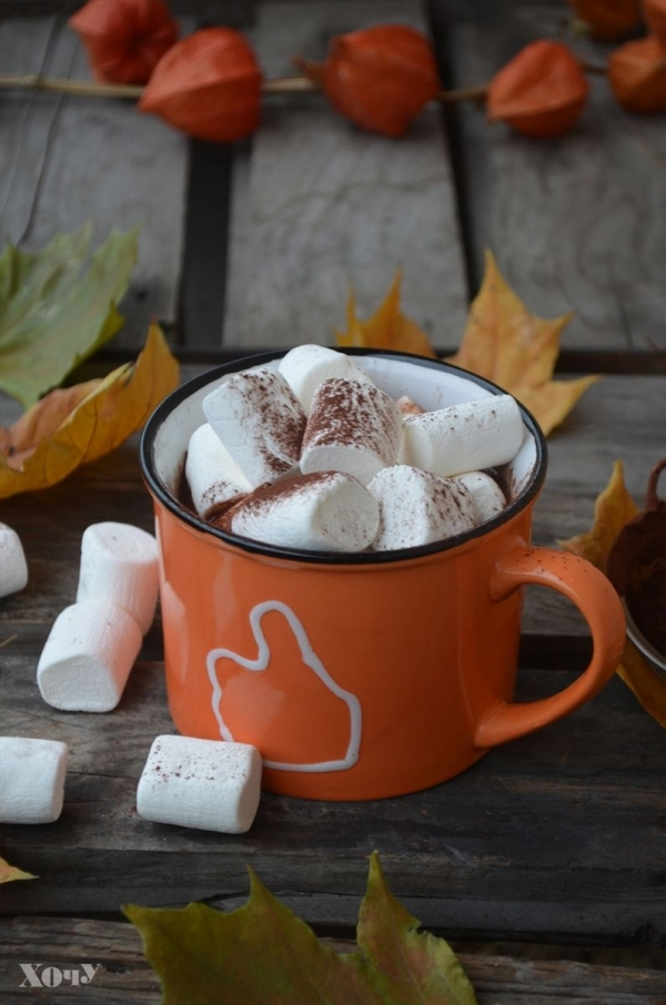 Кулинарная колонка Оли Мончук. Какао с маршмеллоу - фото №6