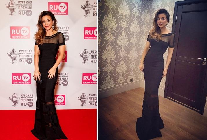 2a218412f541b8e Премия RU.TV 2016: платья Ани Лорак и Веры Брежневой