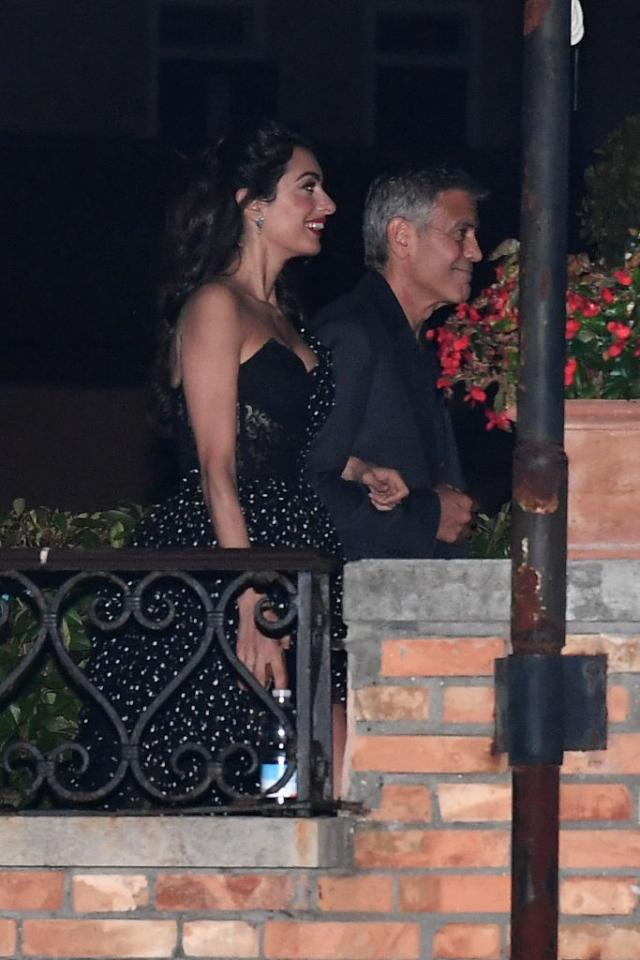 Свидание в Венеции: Джордж и Амаль Клуни устроили романтический вечер (ФОТО) - фото №1