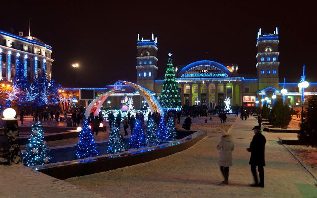 Новый год 2016 Харьков
