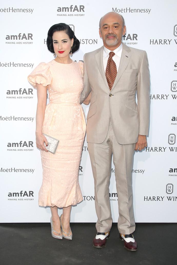 Лучшие наряды amfAR на Неделе высокой моды в Париже