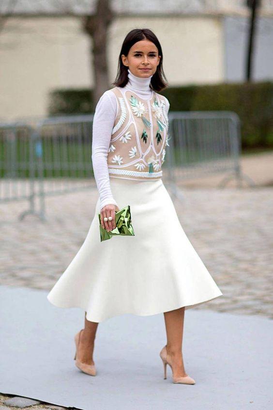 юбка годе как носить стильно