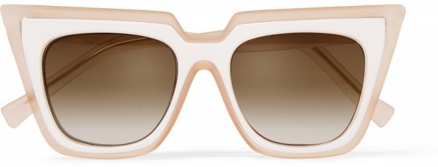 Модные солнцезащитные очки лета 2016 в массивной оправе