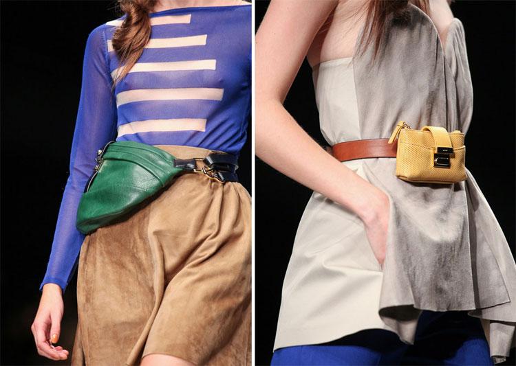 Свобода в моде: сумки на поясе