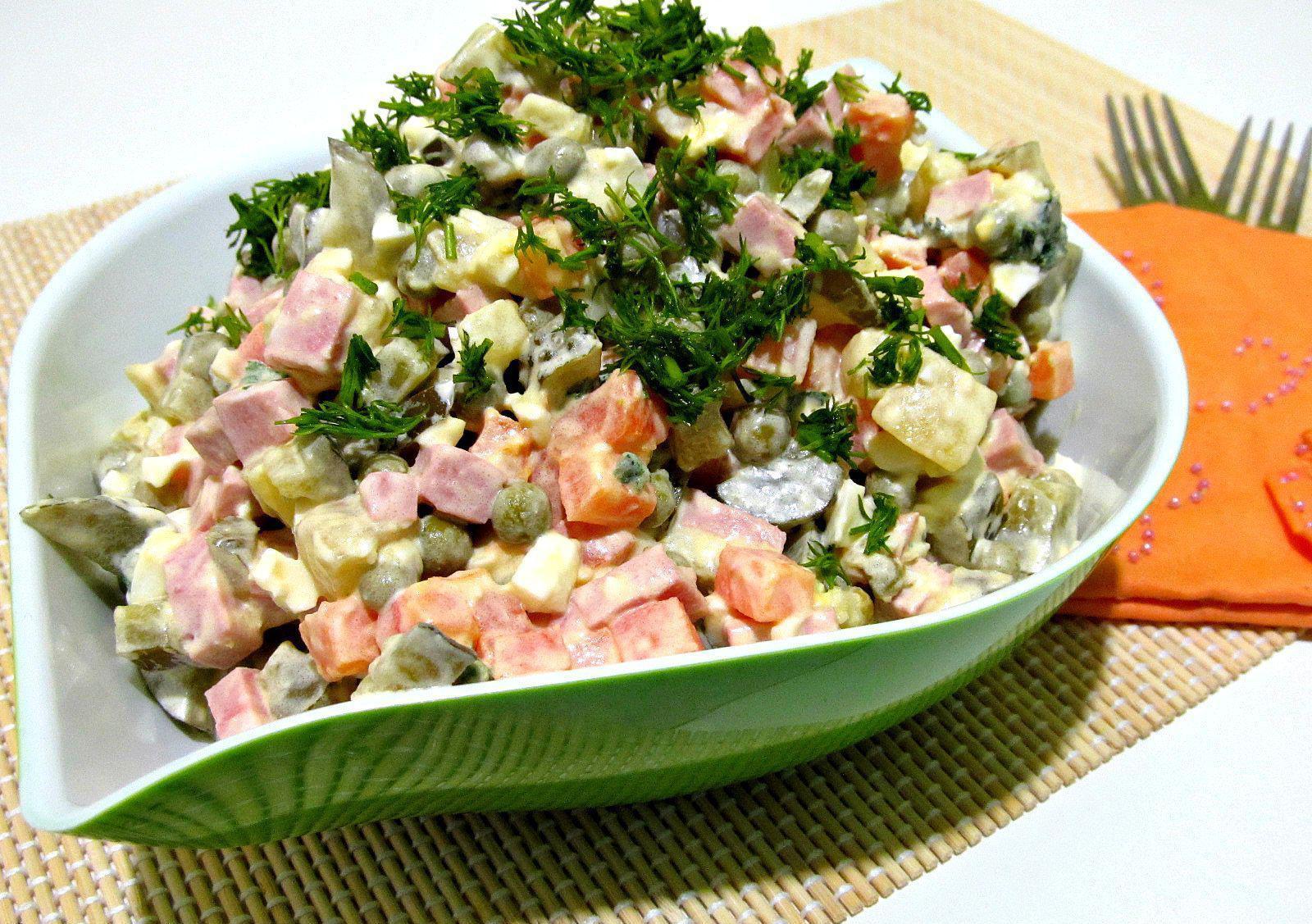 майонезный салат