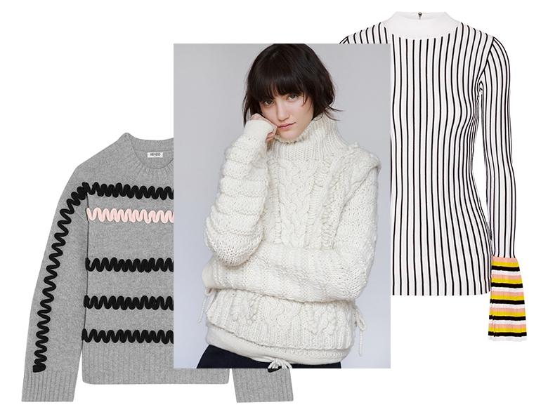 Модная женская одежда осень-зима 2016 фото Модные свитера осень-зима 2016  фото 6084aa76fb4