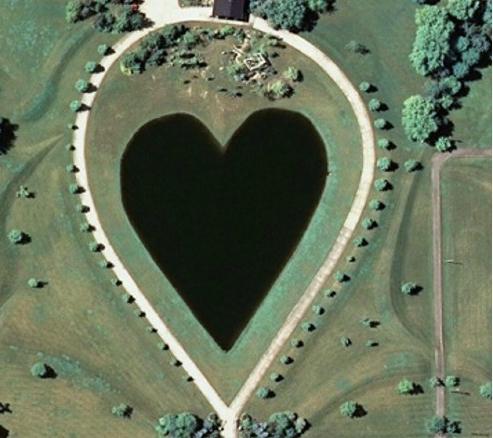 Романтикам на заметку: места на Земле в виде сердца - фото №6