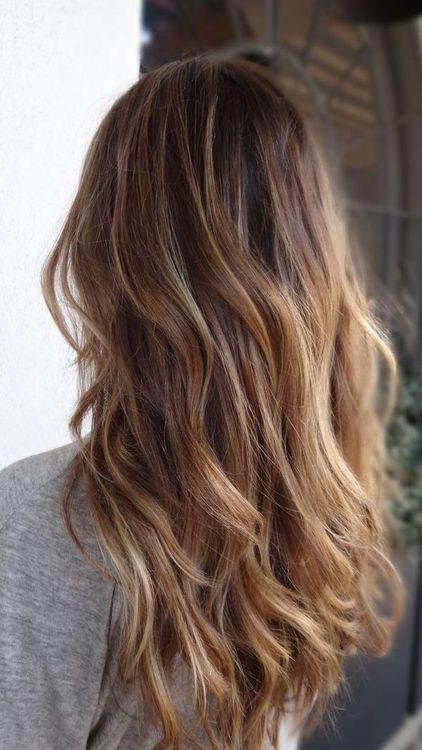 Какое окрашивание волос сейчас в моде - фото №1