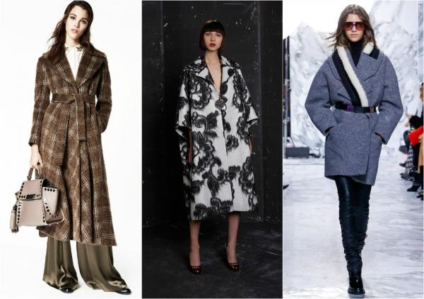 стильные пальто осень-зима 2016 2017