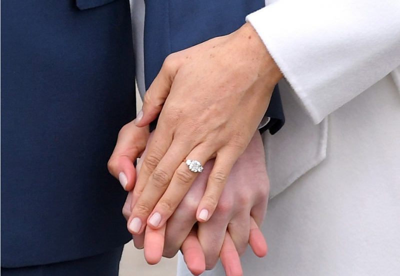 меган маркл помолвочное кольцо