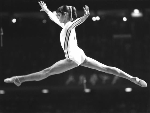Олимпиада в Рио-де-Жанейро-2016  Надя Команечи Олимпиада в Монреале 1976