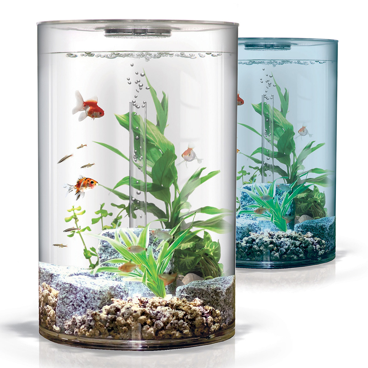 Тренд: аквариум в интерьере - фото №1