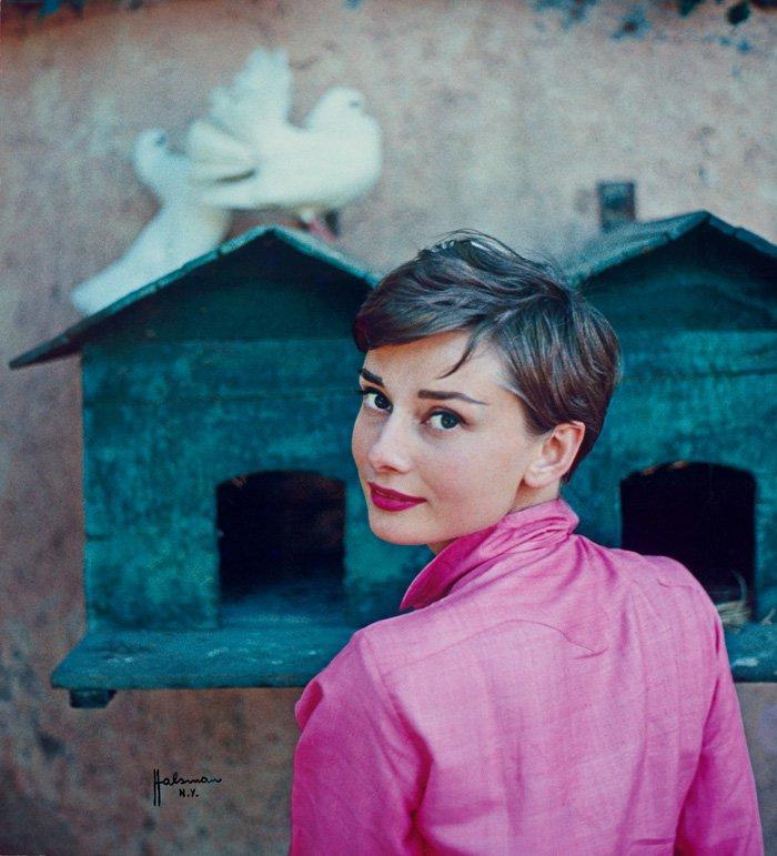 75 лучших и редких образов Одри Хепберн
