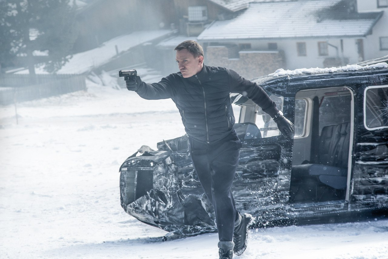 007: Спектр кадры