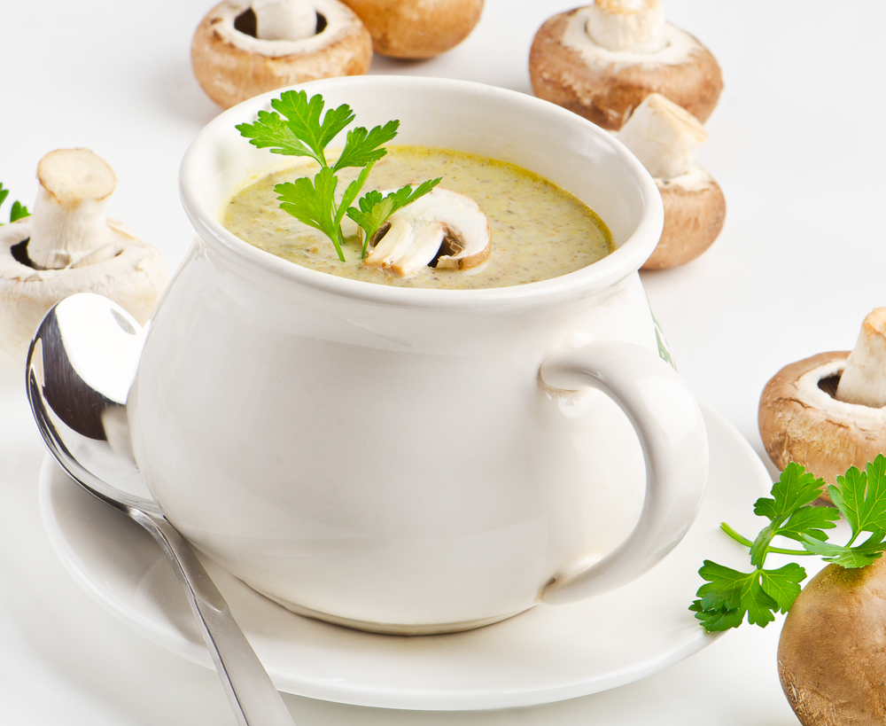 рецепт грибного супа крем