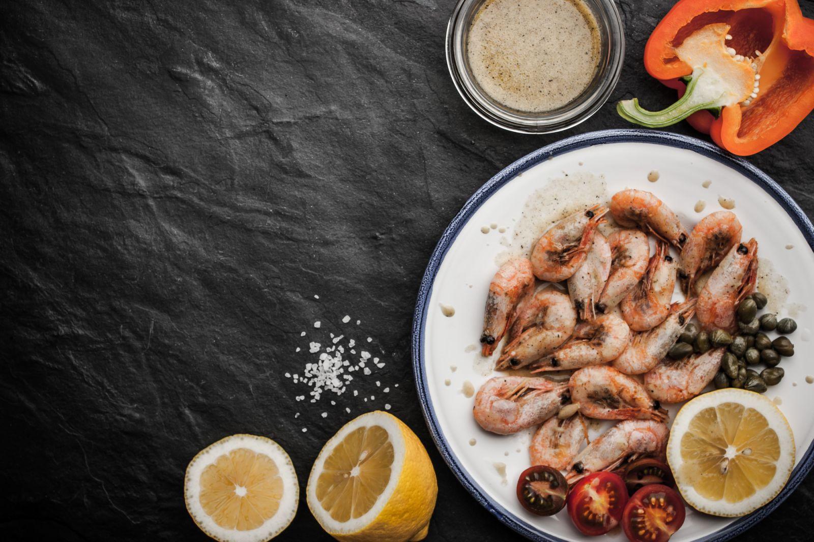 рецепты с креветками
