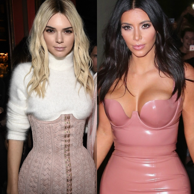 Порно-шик битва: Ким Кардашьян Vs Кендалл Дженнер
