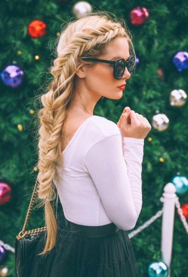"""Как плести косу """"рыбий хвост"""": учимся делать стильное плетение на все случаи жизни - фото №5"""