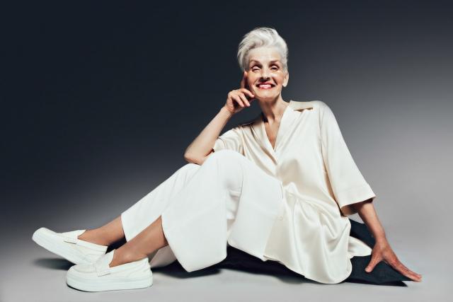 Когда стареть не страшно: 70-летняя украинка стала героиней глянцевого журнала L`OFFICIEL