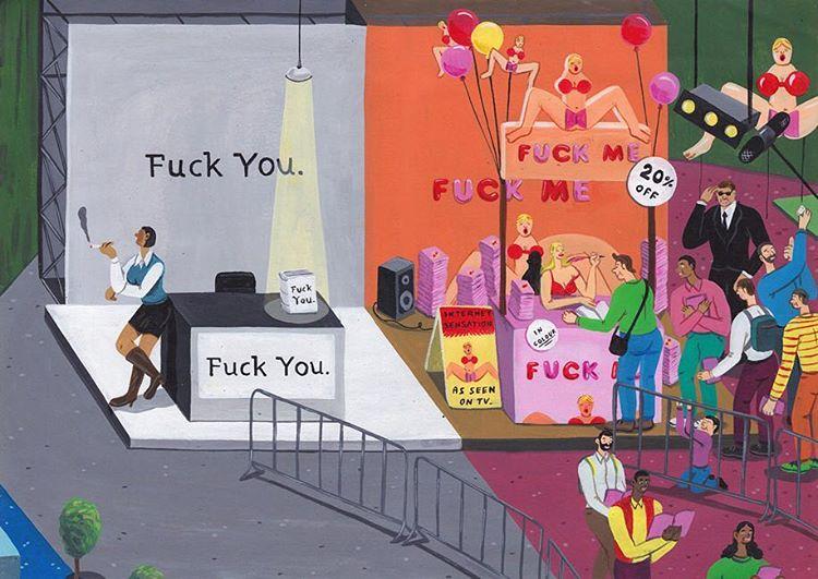 Лайки до гроба: художник иронично проиллюстрировал трагедии современного общества - фото №2