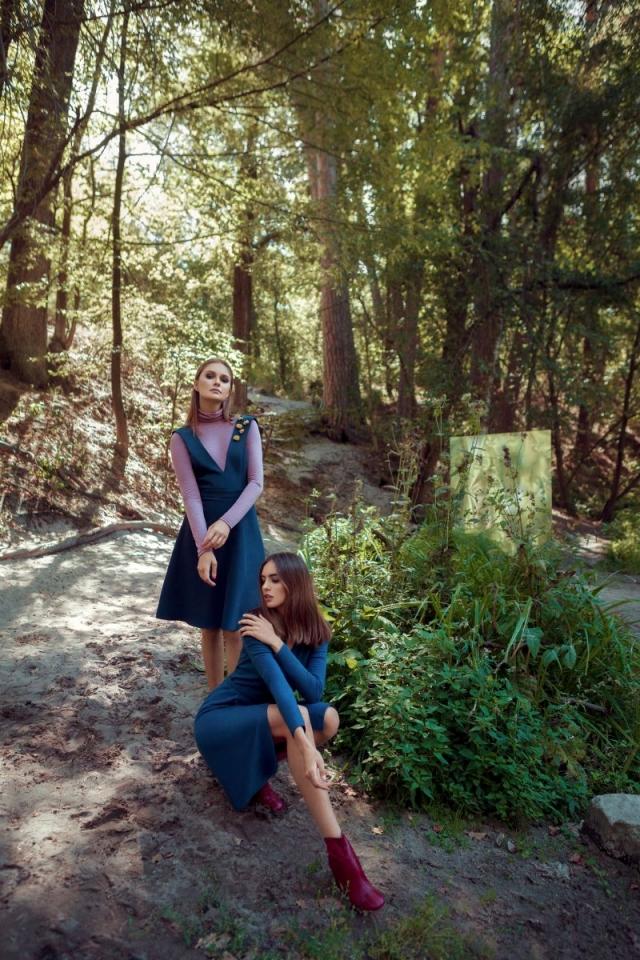 Где одеться в Украине: осенние пальто, юбки миди, брючные костюмы и платья в новой коллекции GRASS