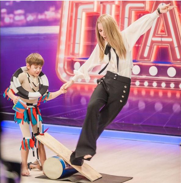 """Одеться как звезда: образ Ольги Фреймут из шоу """"Маленьки гіганти"""""""