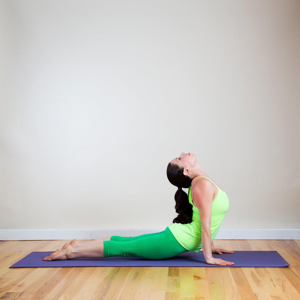 Как убрать живот на йоге