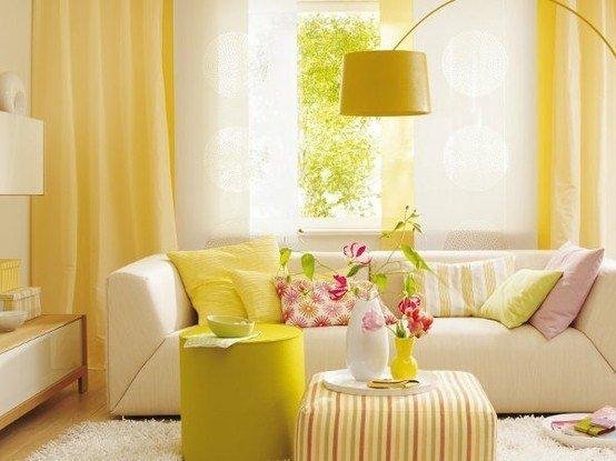 Тренд в интерьере: желтый цвет - фото №2