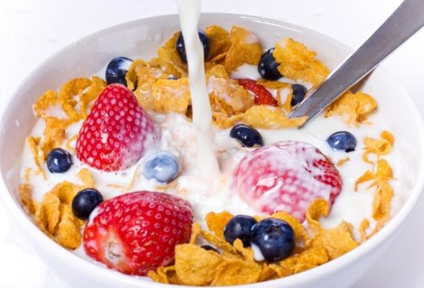 Хлопья на завтрак