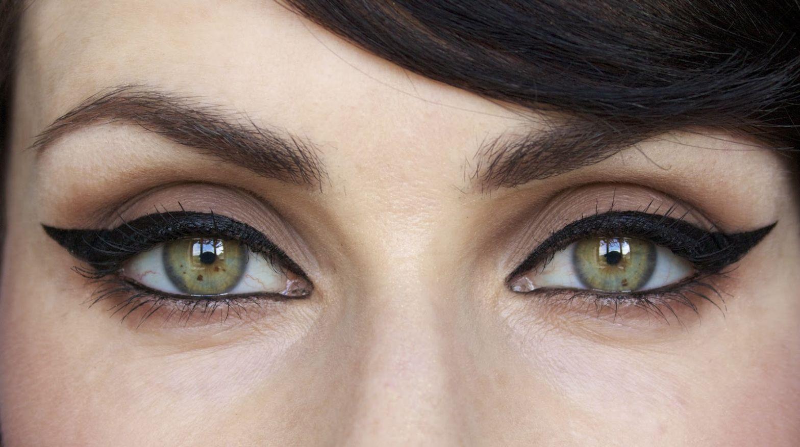 Как сделать стрелки для разной формы глаз - фото №9